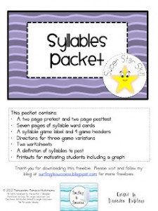 Syllable Packet