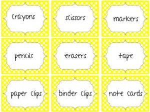 Editable Labels and a Freebie