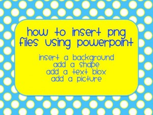 How to Insert PNG Files in PowerPoint