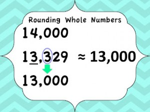Rounding Numbers and a Freebie