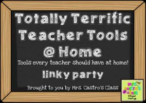Totally Terrific Teacher Tools at Home