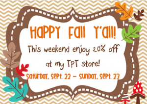 20% off at TPT