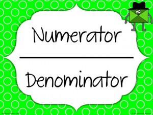 Fun Friday Fraction Freebie