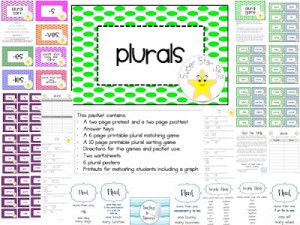 Super Star Skills: Plurals