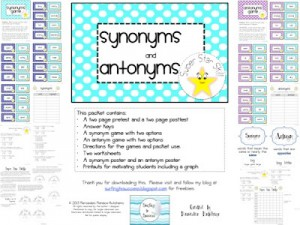 Super Star Skills: Synonyms and Antonyms