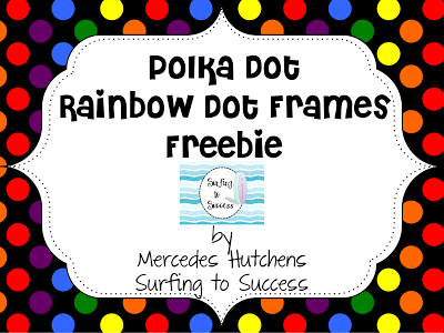 Free Polka Dot Rainbow Dots - Surfing to Success