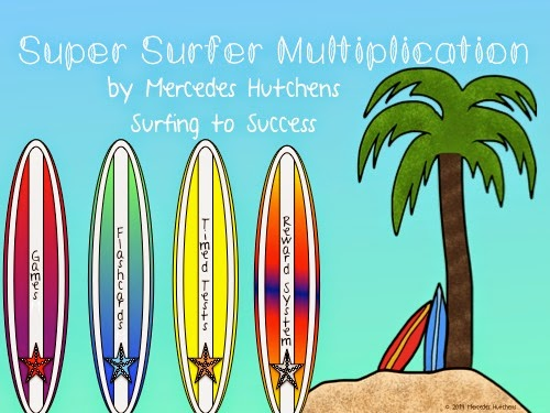 Fact Fluency: Multiplication - Surfing to Success