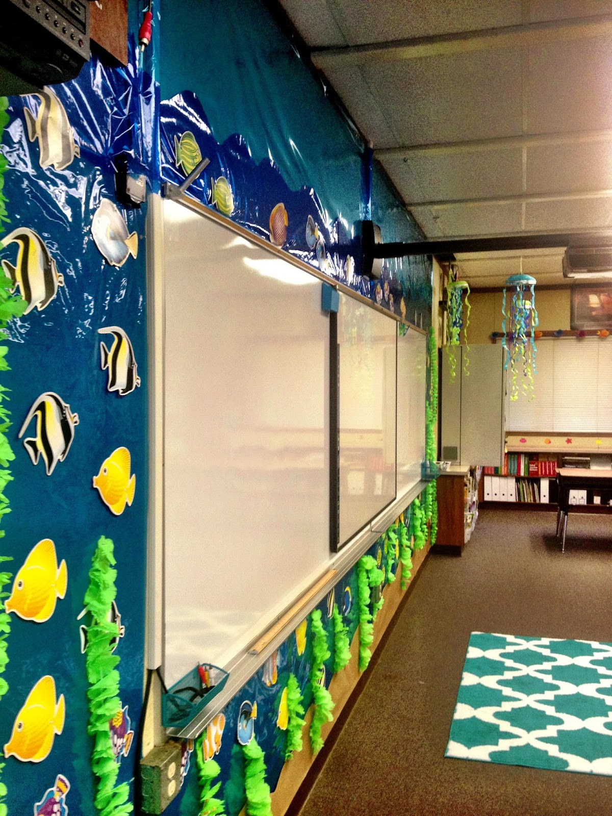 Classroom Decoration Ocean ~ Pirate theme surfing to success