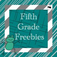 Fifth Grade Freebies