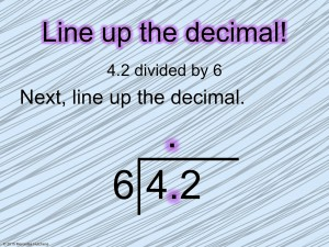 Dividing Decimals and Free Your Time with Fifth Grade Freebies Blog Hop