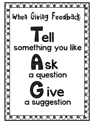 TAG: Tell something you like. Ask a question. Give a suggestion.