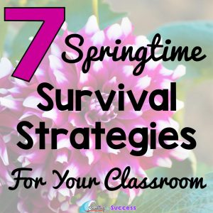 7 Springtime Survival Strategies