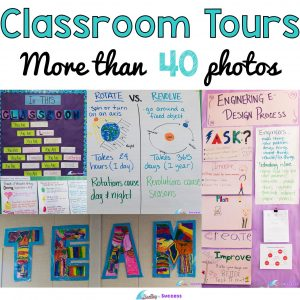 Classroom Tours of Walls and Anchor Charts