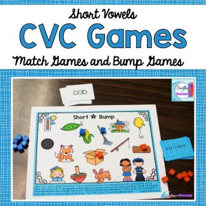 Everything you need to help your students master reading Short Vowel CVC Words.