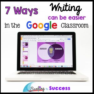 Teaching Writing using Google
