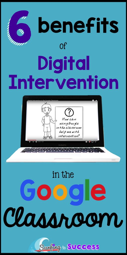 Digital Intervention. How can we, as teachers, use technology to reach our struggling students and meet their individual needs?