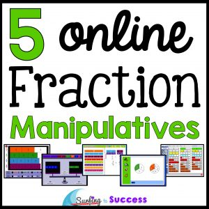5 Online Fraction Manipulatives