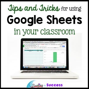 Google Sheets in Your Classroom