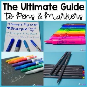Ultimate Guide to Pens and Markers